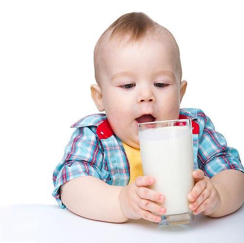Полезно ли для малыша коровье молоко